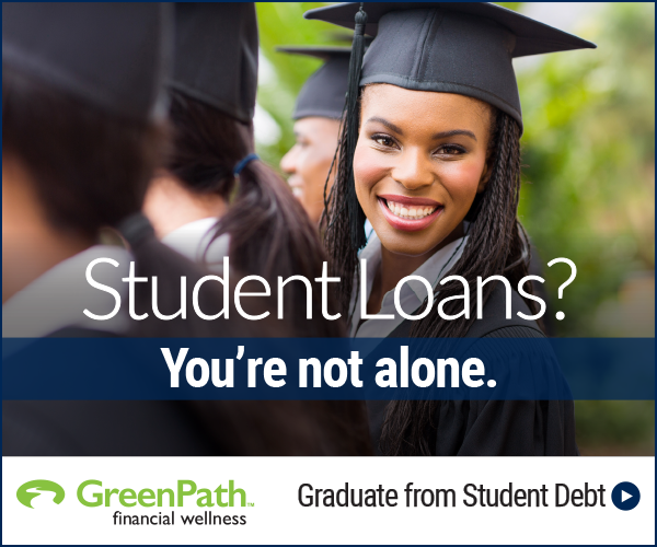 Student Loans? You're not alone! Let TTCU and GreenPath help!