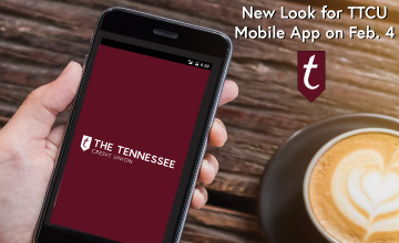 Updated maroon color scheme for TTCU mobile app